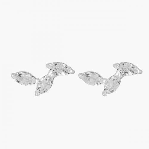 Puces d'oreilles zirconium Argent Garanti Silver Idol
