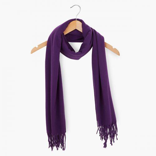 Echarpe violette
