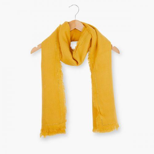 Echarpe jaune