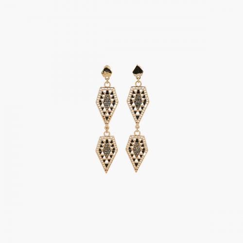 Boucles d'oreilles dorées Manhattan