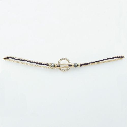 Bracelet doré Ultra Violet