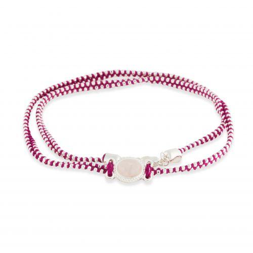 Bracelet rose Steppes Sauvages