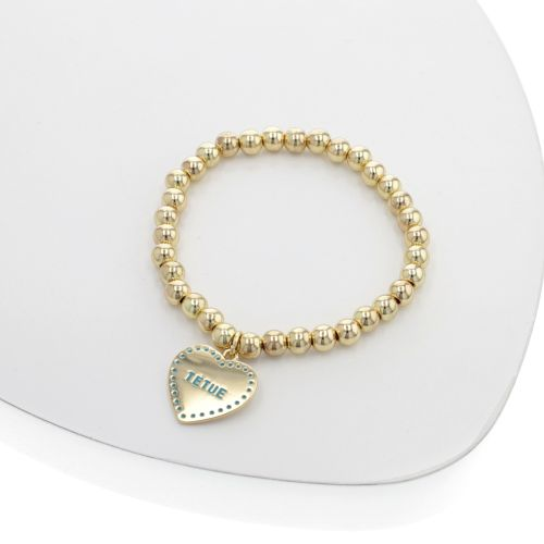 Bracelet Coeur bleu
