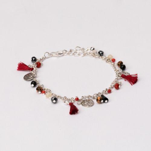 Set de bracelets argentés Etnic Vibes