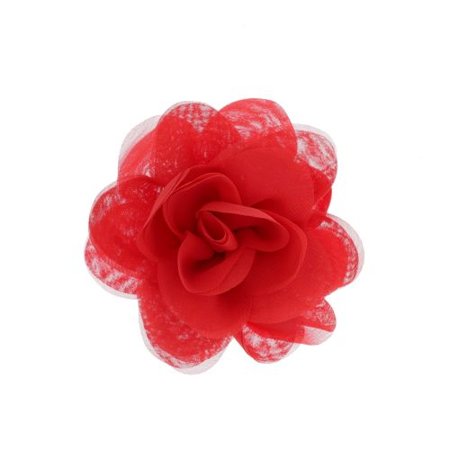 Broche rouge Hair Style