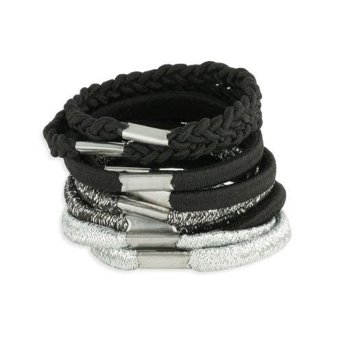 Set d'élastiques noir