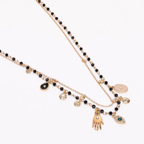 Set de colliers doré Celestial