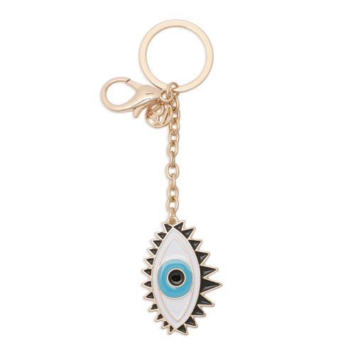 Porte-clés œil bleu