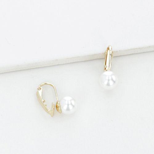 Clips d'oreilles dorés Essentiel