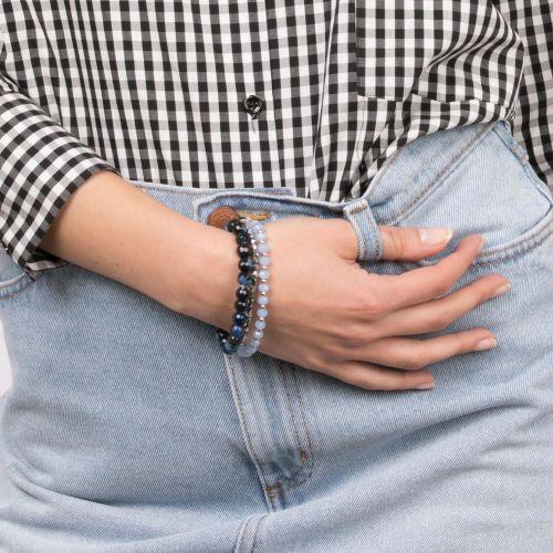 Set de bracelets élastiques bleu City Blue